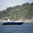 High speed yacht — Stock Photo
