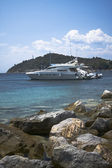 Barca di lusso — Foto Stock