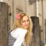 Gorgeous smiling girl — Stock Photo