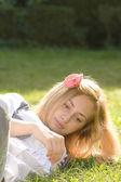 Sensual girl portrait — Stock Photo