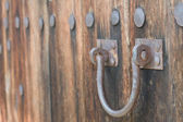 Rusty gate — Stockfoto