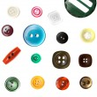 Stock Photo: Colorful button