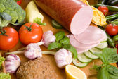 Composition of food — Stock Photo