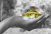 Magic sphere — Stock Photo