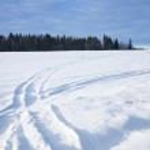 Winter roads 1 — Stock Photo