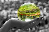 Magic sphere 3 — Stock Photo