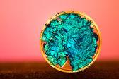 Blue crystals — Foto de Stock