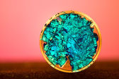 Cristales de color azul — Foto de Stock