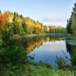 herfst lake — Stockfoto