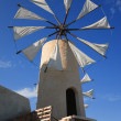 Windmill on Crete — Stock Photo