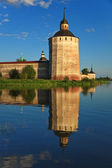 Kirillo-Belozersky monastery, tower — Stock Photo