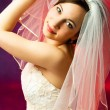Stock Photo: Young bride