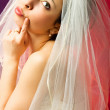 Thoughtful bride — Stock Photo #1787640
