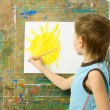 Little painter — Stock Photo #1796036