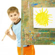 Little painter — Stock Photo #1796047