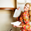 Woman in the kitchen — Stock Photo #1798084