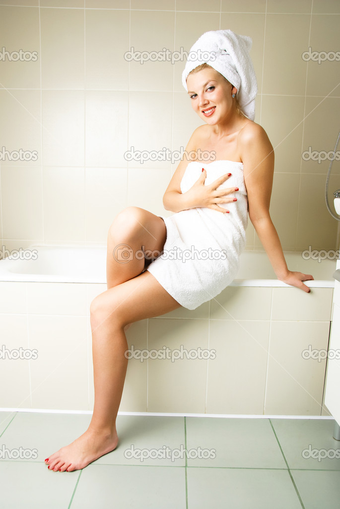 Woman In The Bath Room 36