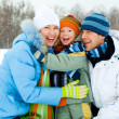 Stock Photo: Family outdoor