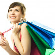 Woman with shopping bags — Stock Photo #1812629
