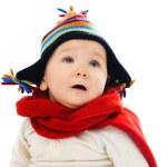 Baby tragen Winterkleidung — Stockfoto