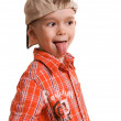 Little boy showing his tongue — Stock Photo #1814452