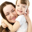Mother and daughter embracing — Stock Photo #1871828