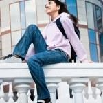 Teenage girl outdoor — Stock Photo #1874602