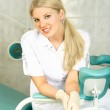 Gynecologist in the office — Stock Photo