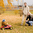 Royalty-Free Stock Photo: Family outdoor