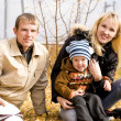 Happy family outdoor — Stockfoto #1890713
