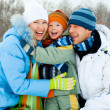 Family outdoor — Stock Photo #1891314