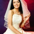 Sexy brunette bride — Stock Photo #1894031