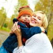 Happy mother and son — Stock Photo #1901900