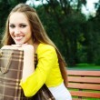 Girl with shopping bags — Stock Photo #1904922