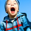 Royalty-Free Stock Photo: Screaming child outddor