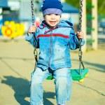 Cute boy outdoor — Stock Photo #1916832