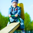 Stock Photo: Cute boy outdoor
