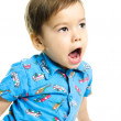 Royalty-Free Stock Photo: Screaming little boy