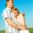 Young loving couple — Stockfoto