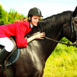 Equestrian — Stock Photo