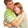 Happy young couple — Stock Photo #1998520