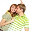 Happy young couple — Stock Photo #1998551