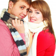 Happy young couple — Stock Photo #1998661
