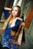 Upset girl — Stock Photo