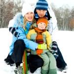 Family outdoor — Stock Photo #2000164