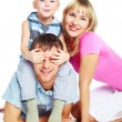 Happy family — Stockfoto #2001415