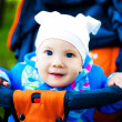 Baby in the carriage — Stock Photo #2125601