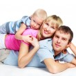 Happy family — Stockfoto #2153535