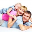Happy family — Stock fotografie #2237124