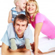 Happy family — Stock Photo #2237257